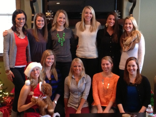 Jenna's 6th Annual Cookie Party Crew!