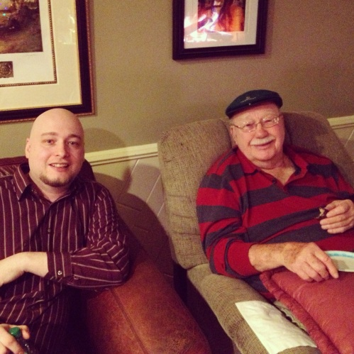 Nate and Grandpa