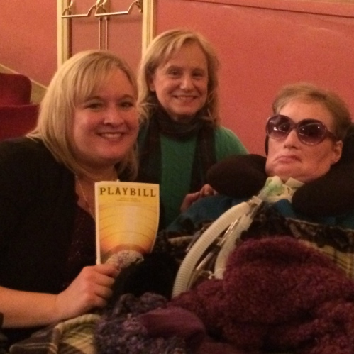 Motown the musical with Jenna's mother in law.